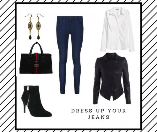 Dress up your jeans