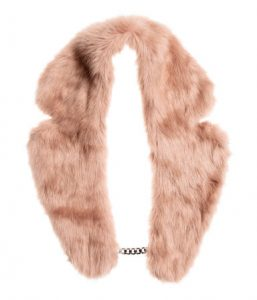 Faux Fur Collar R 229_H&M