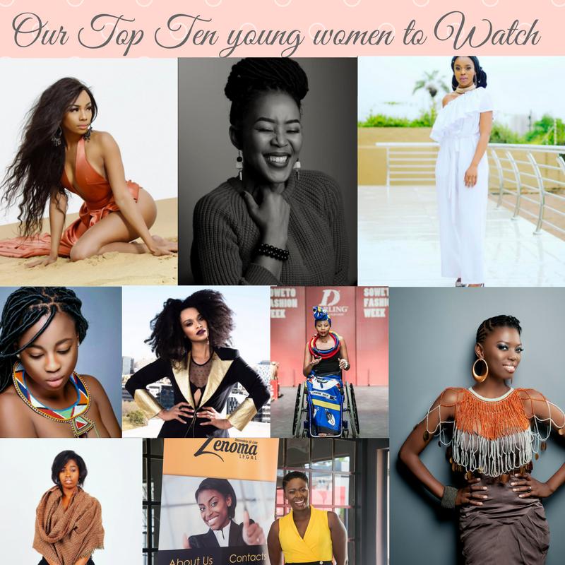 Our Top Ten young women to Watch
