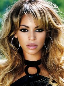 Beyonce smoky eyes