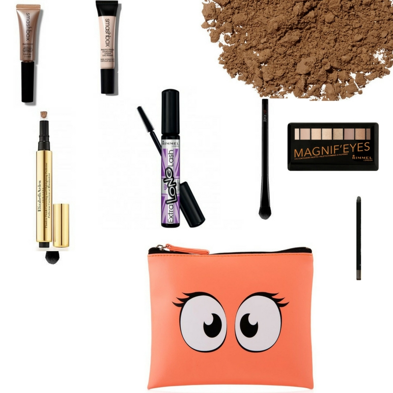 Make up essentials for smokey eyes