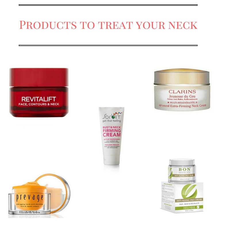 Products that treat your neck