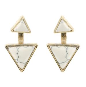 White De stijl marble earrings_R169_Zando