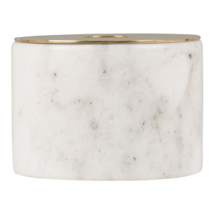 White marble dinner candle holder, R159.00 @Home