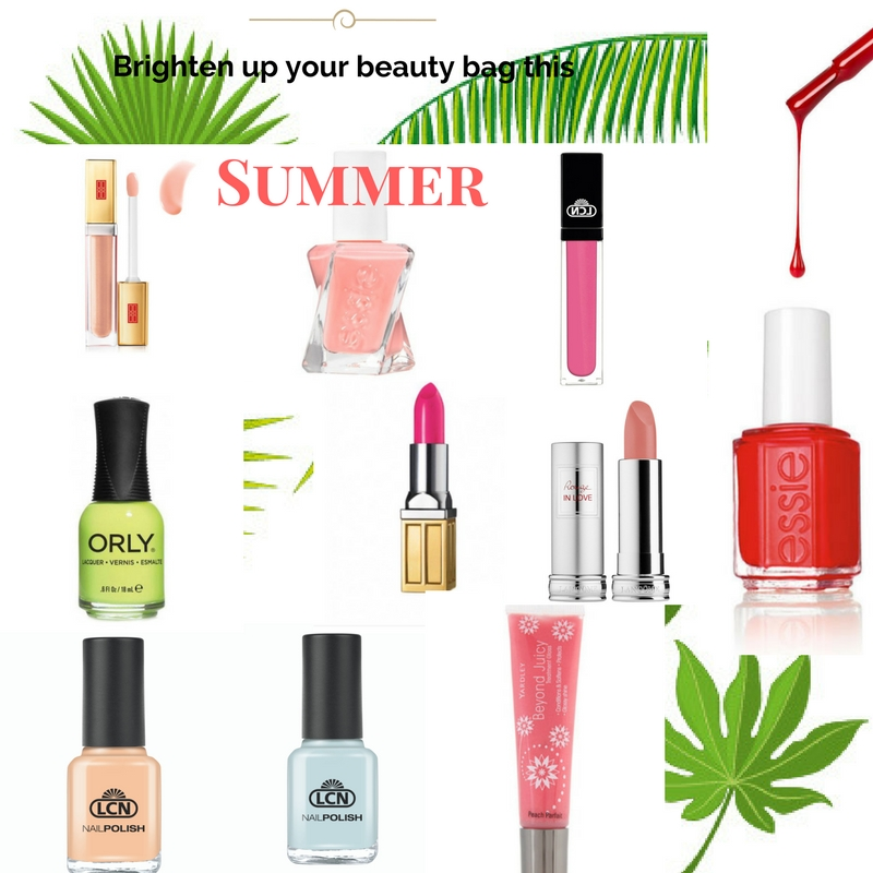 Brighten Up Your Beauty Bag This Summer