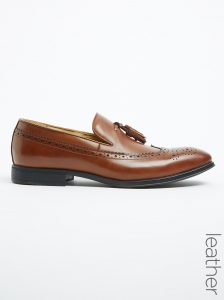 Fleck Leather Tassle Slip On Brogue _R1540.00_Spree (2)