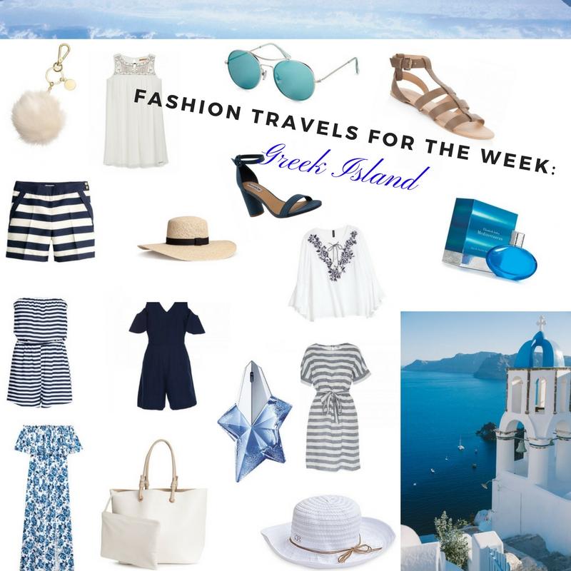 Fashion Travel for the week-Greek Island
