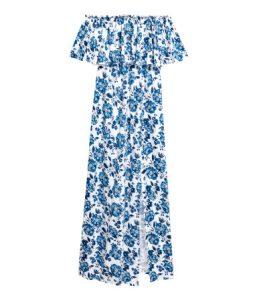 Off-the-shoulder maxi dress-R329.00_H&M