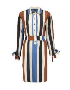 Selfi Belted Striped Shirt Dress_R1299.00