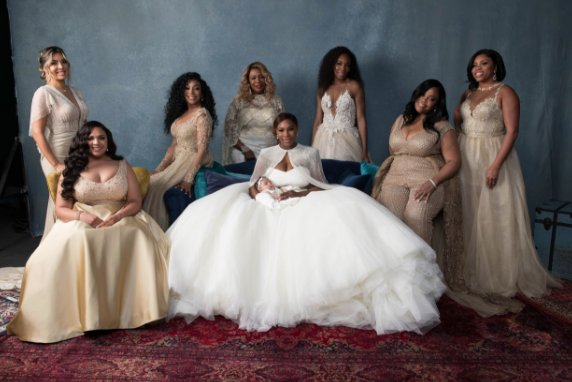 Serena Williams Says 'I Do'