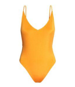 V-neck swimsuit_R199_H&M