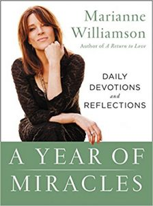 A year of miracles. Marianne Williamson