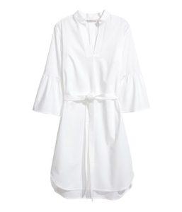 Dress with a tie belt_R429.00_H&M