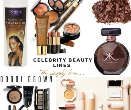 Celebrity beauty lines we simply love