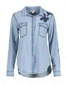 Embroidery Denim Shirt_R499.00_Woolworths