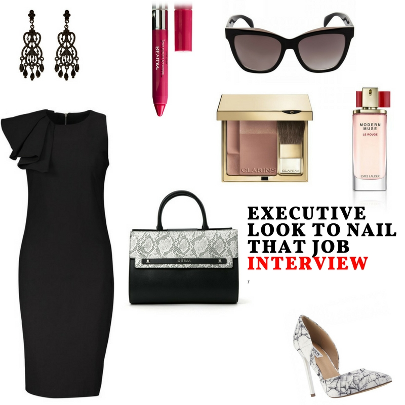 Executive Look To Nail That Job Interview