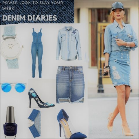 Power Look To Slay Your Week: Denim Diary