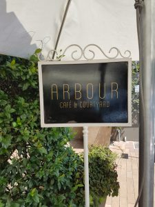 Arbour Cafe and Courtyard