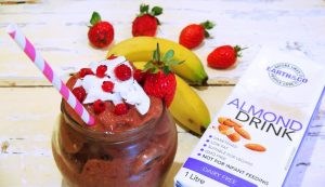 Coco-Berry and Almond Smoothie