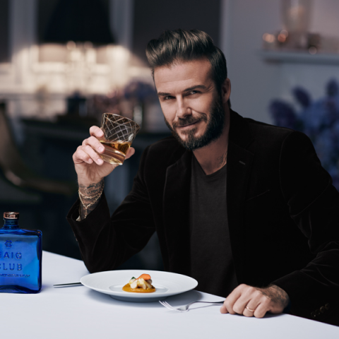 David Beckham In South Africa To Launch Haig Club Whiskey