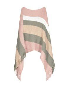 Striped Shimmer Fringe Poncho_R353.07_Woolworths