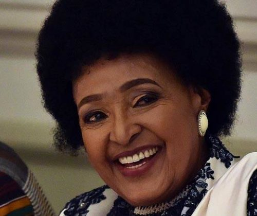 Winnie Mandela..