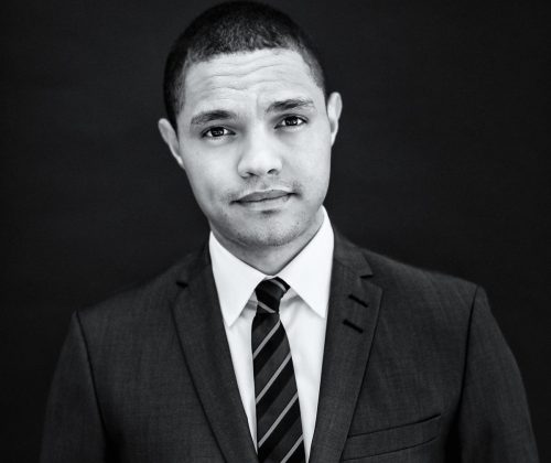 South African comedian Trevor Noah at The Daily Show offices in New York.