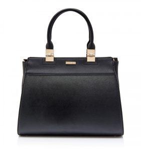 Lilian Formal Tote Bag Black_R649.00_Forever New