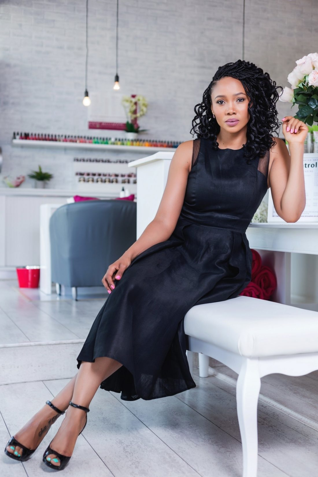 Azania Mosaka On How Overworking Herself Made Her Anxious And Unhappy