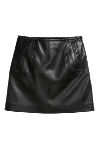 Imitation leather skirt_R329.00_H&M