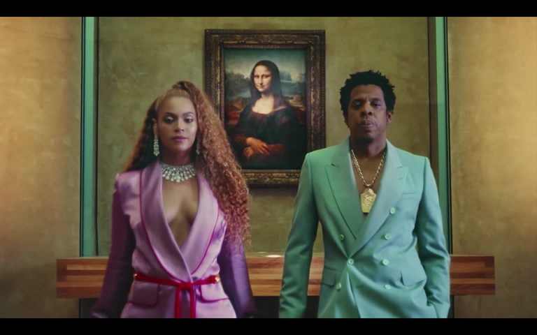 Queen B and Hubby Drop Surprise Album