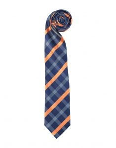 Orange Stripe Check Regular Tie_R150.00_Woolworths