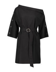 Belted Off Shoulder Poplin Midi Dress_R300.00_Woolworths