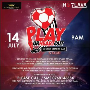 Mo Flava's Charity Soccer Day is Back