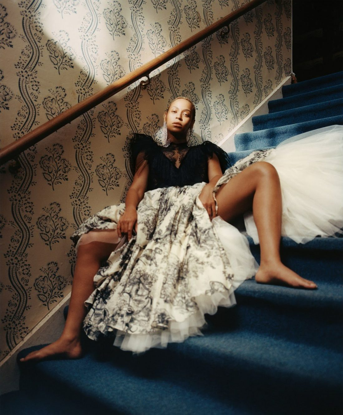 Queen B, Features on Cover of Vogue Magazine and Shares Her Life's Journey