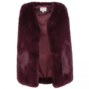 Sophie Sleeveless Faux Fur Gilet_R599.00_Poetry