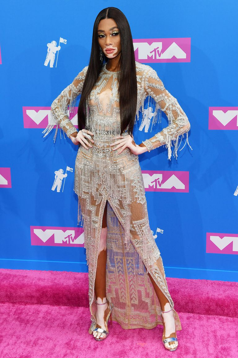 Power Look: Celebrities Slaying The 2018 MTV VMAs Red Carpet Looks