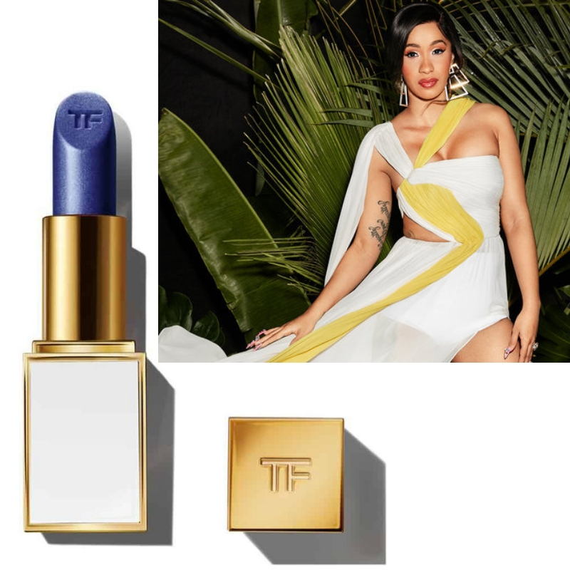 2d40f0b0191 Shades of Blue Inspired By Cardi B s Sold Out Tom Ford Lipsticks ...
