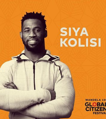 Springbok Rugby Captain Siya Kolisi Announced As Global Citizen Advocate