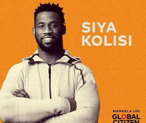Springbok Rugby Captain Siya Kolisi Announced As Global Citizen Advocate