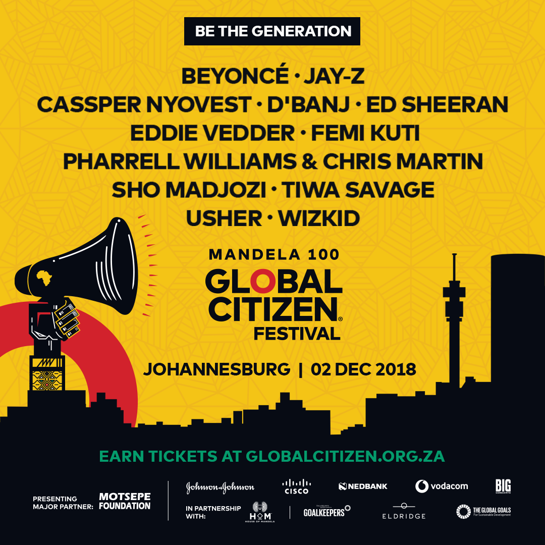 World Leaders To Join The Star-Studded Global Citizen Festival