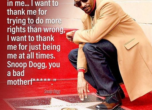 Snoop Dogg Receives Hollywood Hall Of Fame, And Thanks Himself For It