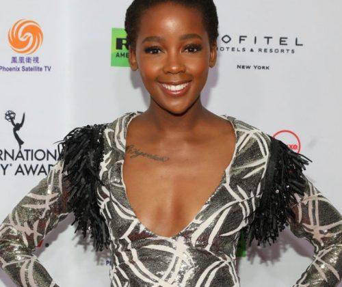 Thuso Mbedu Slays The International Emmy Awards Red Carpet