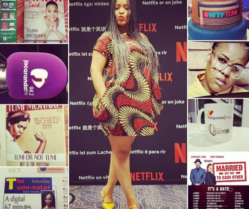 Tumi Morake Reflects On Her Career And Her NetFlix Comedy Special