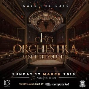 AKA Set To Make History With AKA Orchestra On The Square.