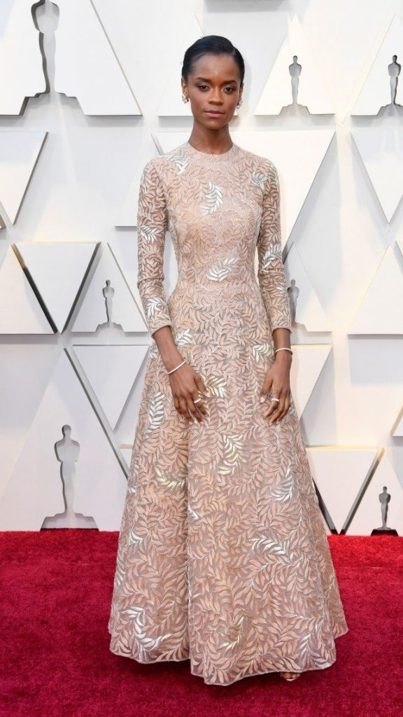 Letitia Wright_Frazer Harrison_Getty Images.