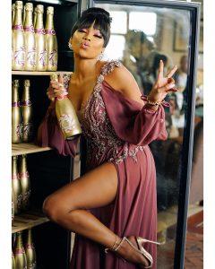 Bonang Matheba Launches Her Own Luxury Alcohol .