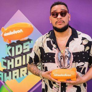 South African Hip Hop Star, AKA Wins A Nickelodeon Kids Choice Award
