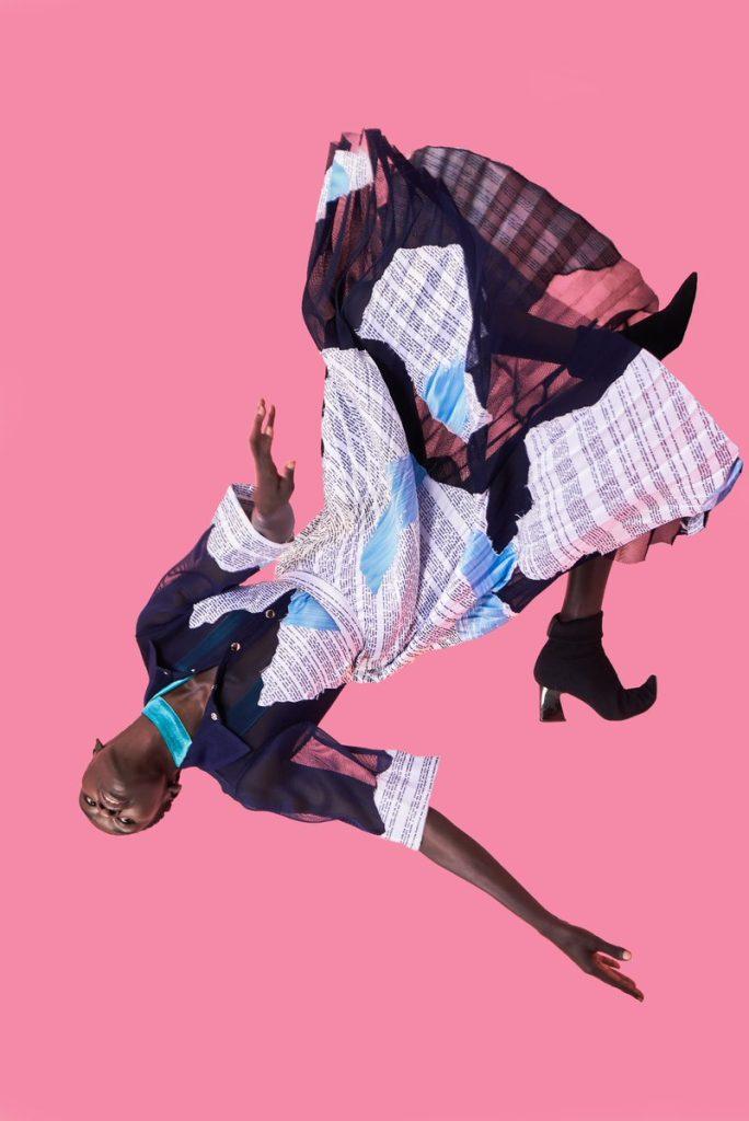Thebe Magugu Meets Vogue Editor and Wins International Fashion Showcase 2019.