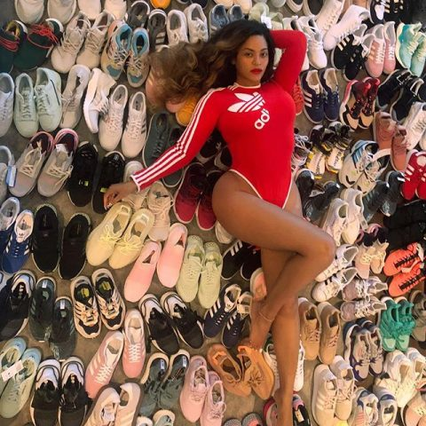 Beyonce Just Teased Her New Partnership With Adidas